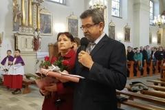 Życzenia dla księży prałatów Józefa Leśniaka i Edwarda Nylca_Moment
