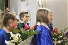 Życzenia dla księży prałatów Józefa Leśniaka i Edwarda Nylca_Moment(15)