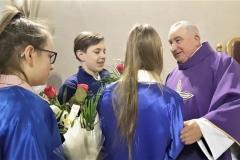 Życzenia dla księży prałatów Józefa Leśniaka i Edwarda Nylca_Moment(17)