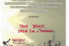 Trio-BAKX