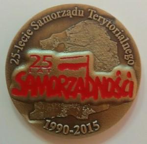Medal 25 lecia Solidarności (awers)