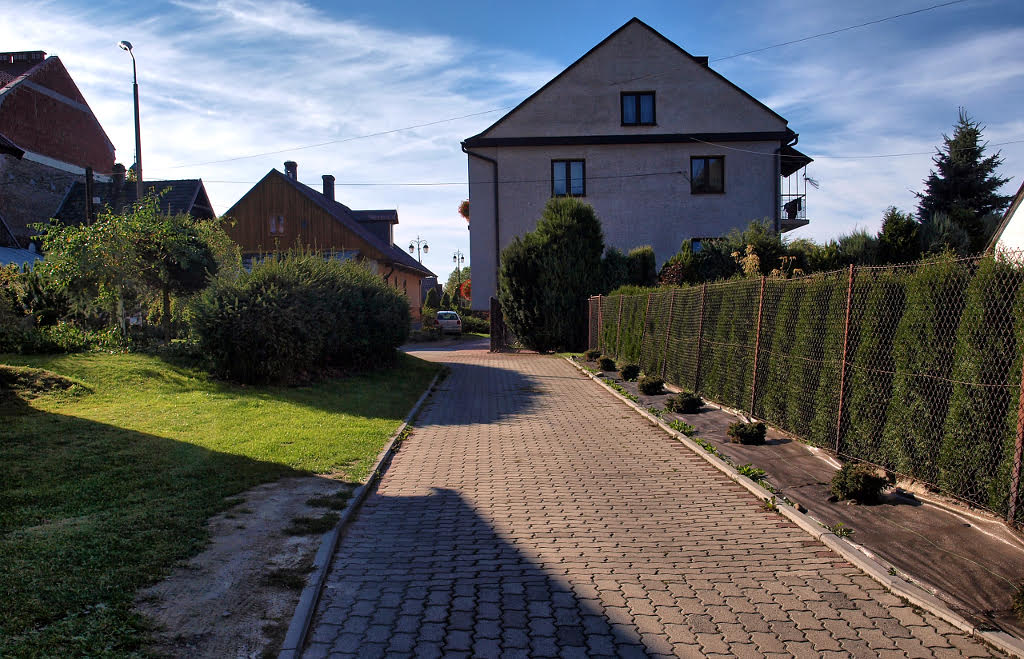 uliczka Tymbarku