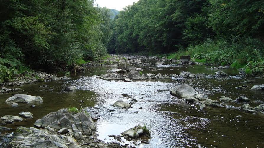 rzeka w Piekiełku