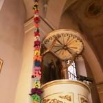 palma w kościele1
