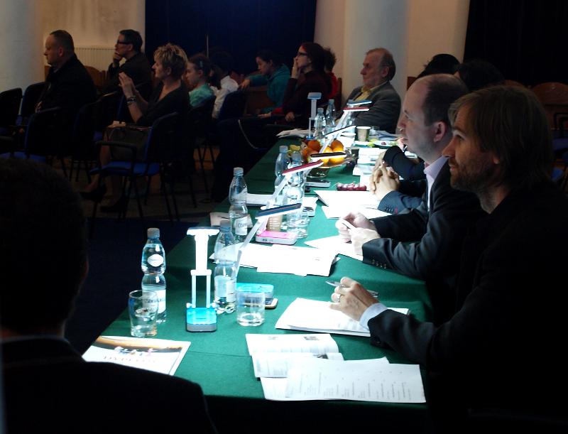Jury podczas pracy