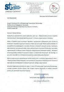 pismo od STO