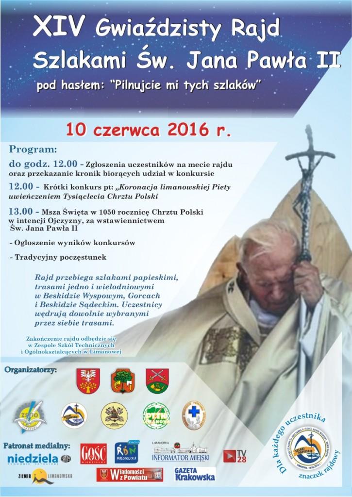 Plakat Rajd gwiazdzisty