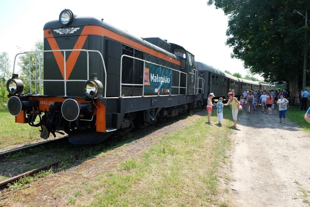 Pociąg retro Transwersalny (1)