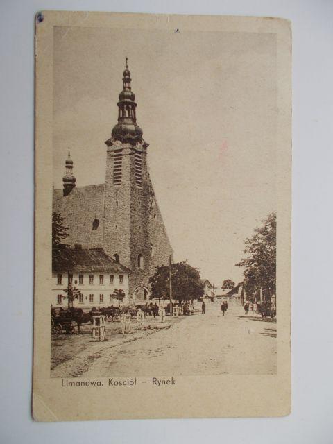 15-limanowa-kosciol-i-rynek-nakl-s-olszewski-1937-jak-zmniejszyc-fotke_pl