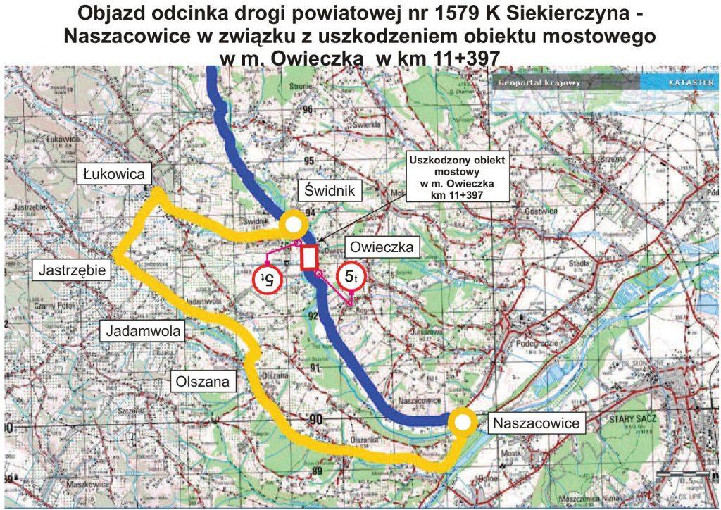 wyznaczona-trasa-objazd-uszkodzonego-mostu-w-owieczce