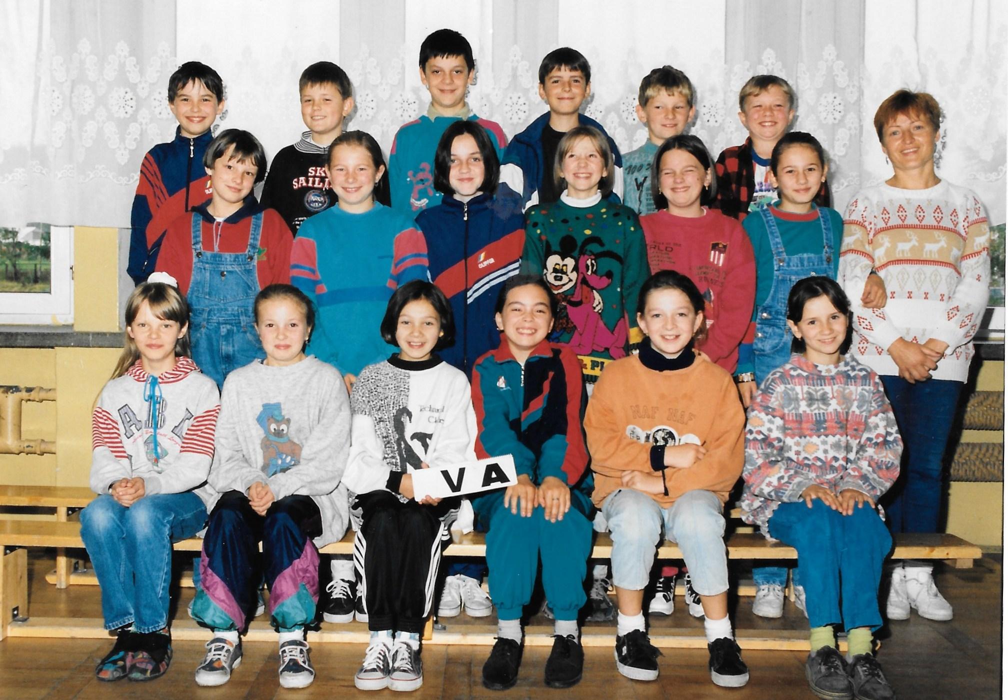 Klasa Va z wychowawczynią Teresą Wiśniowską