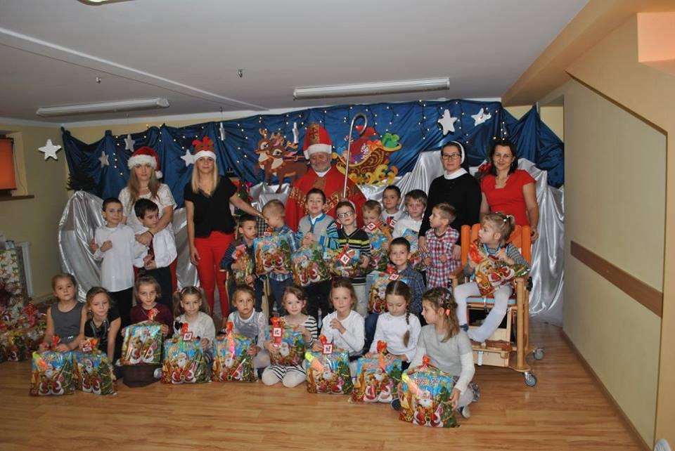 Św. Mikołaj z sześciolatkami