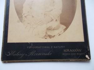 41) WALERY RZEWUSKI - SYGNATURA -  OK. 1862-1863
