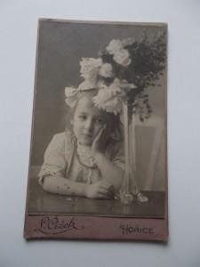 48) DZIECKO PORTRET - OK.1895 AUSTRO-WEGRY