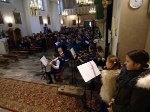 Występ Gloria Marie w tymbarskim kościele - 15.01.2017